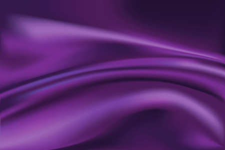 Vector of Violet silk fabric background Vector