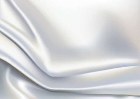 satiny: Vector of Ivory color fabric, background