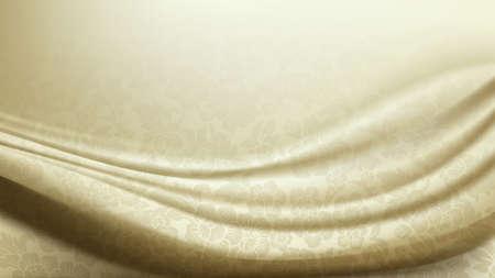 silk fabric: Patterned Ivory Silk Fabric Background