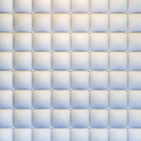white leather upholstery texture with great detail for background, check my port for seamless version Stock Photo - 11755400