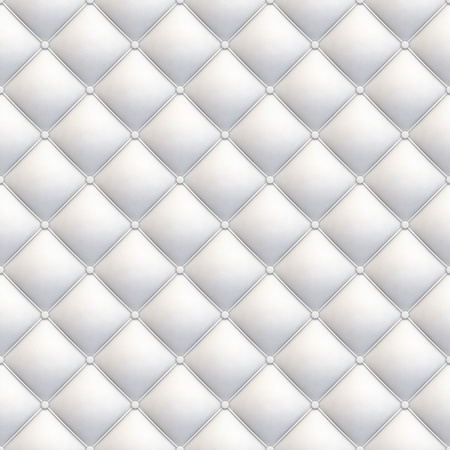white leather upholstery seamless texture diagonal with great detail for background, check my port for similars Stock Photo - 11755391