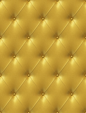 Seamless tile able texture of a golden leather upholstery with great detail similar textures on my port photo