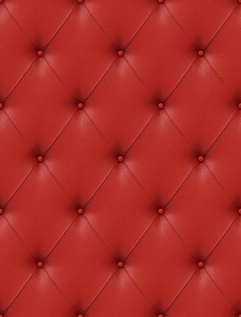 Naadloze tegel staat textuur van een rood lederen bekleding met veel detail soortgelijke structuren op mijn poort