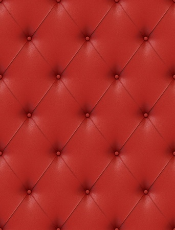 Seamless tile able texture of a red leather upholstery with great detail similar textures on my port photo