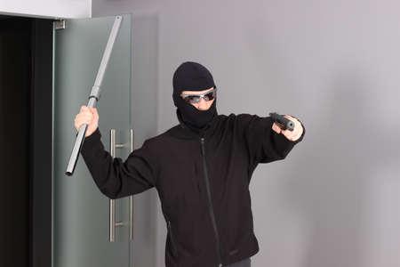 Zlodziej w domu 5 Stock Photo - 14442609