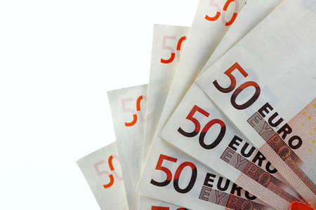 Fifty euro 5  Stock Photo