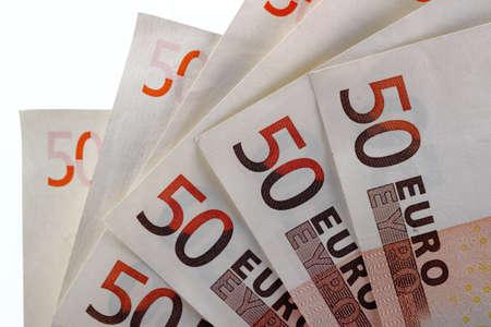 Fifty euro 4  Stock Photo
