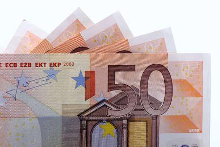 Cincuenta euro 3 Foto de archivo