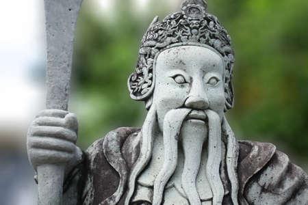 bouddha: Chinese statue