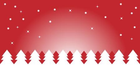 christmas night: christmas night in red