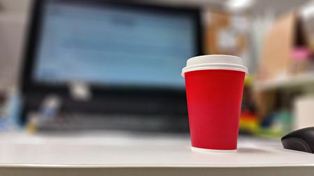 jornada de trabajo: caf� de la ma�ana en la jornada de trabajo
