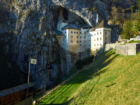 offense: Predjama castle.One Of The Most Chilling Haunted Castles In The World. A castle built within a cave, now that is brilliant in terms of defense and offense. In Slovenia, Predjama Castle is known to date back to at least 1274. With at least 700 years of vio Editorial