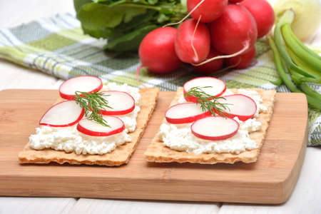 veg: Healthy and delicious sandwiches with cottage cheese and veg