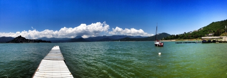 Valle de Bravo is a magical valley near Mexico City it has a beautiful lake surrounded by mountains.