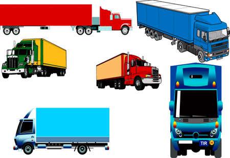 Trucks of different configuration
