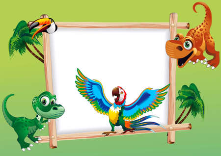 Scope for congratulation  to the child, with the objects of making of animated cartoon