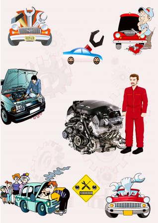 Repair of engines of cars, cars, autolocksmith