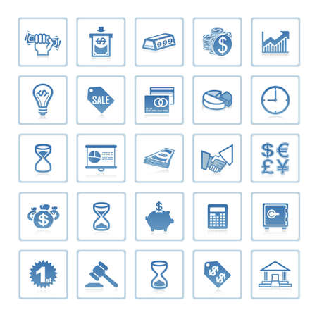 Web icons : business and finance
