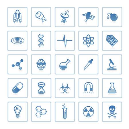periodic: Web Icone: spazio e scienza  Archivio Fotografico