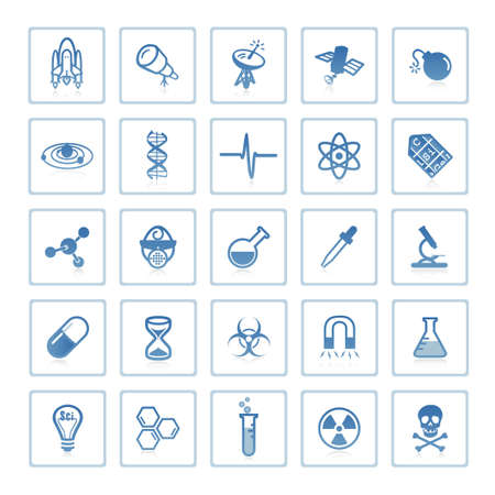 Web icons : Space and Science