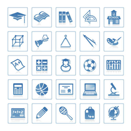 Web icons : Education Stock Photo