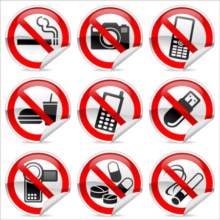 Winkel verboden tekens