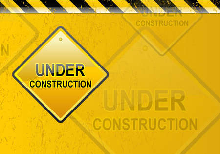 building construction site: Under construction background