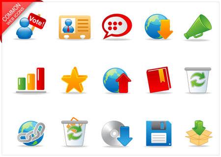 Universal Web icons 2 Stock Photo - 6994965
