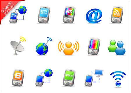 Kommunikation-Ikonen