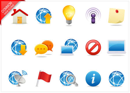 Universal Web icons 4 Stock Photo - 6994967