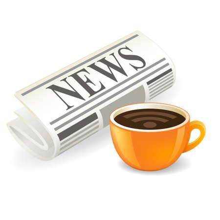 Neueste News-Symbol  Lizenzfreie Bilder