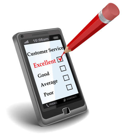 satisfied customer: Online Survey
