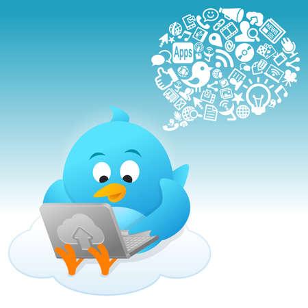 Social Gespräch Lizenzfreie Bilder