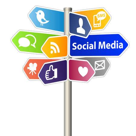 interaccion social: Medios de Comunicación Social de sesión Foto de archivo