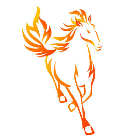 Horse Flame