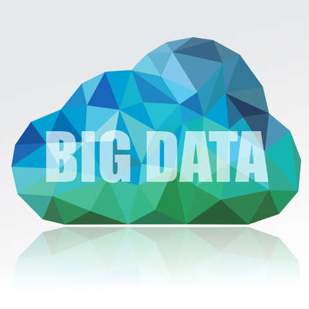 Big Data Cloud Stock Photo - 35556610