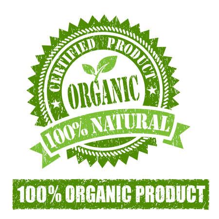 productos naturales: Caucho Orgánica Producto sello