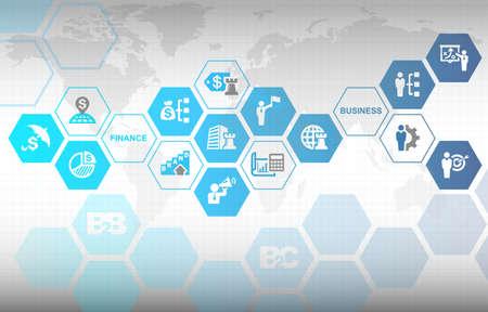 Business Finance Branding Marketing Concept Background