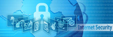 internet security: Internet Security Protection Banner