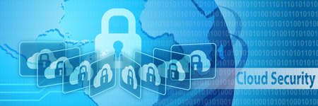 security technology: Cloud Security Protection Banner