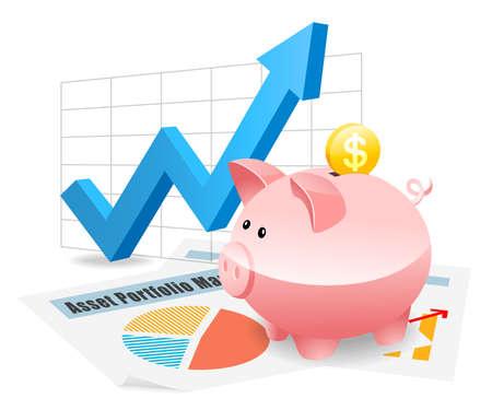 Piggybank Savings Investment Planning for Future
