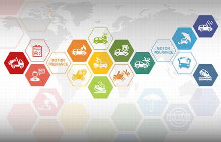 Motor Insurance Background