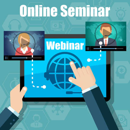 training device: Webinar Training, Online Conference and Education using Mobile Device