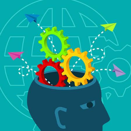 Brainstorm Critical Thinking Problem Solving Decision Concept
