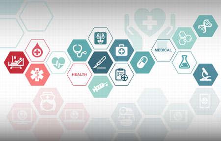 Medical Healthcare Background