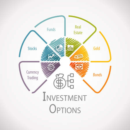 allocation: Investment Option Wealth Management Infographic