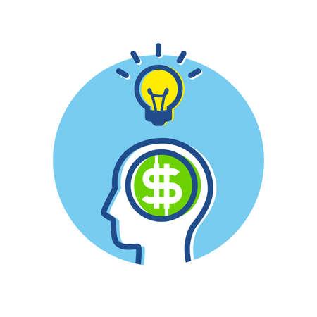 Fintech Financial Technology Business Big Idea Thinking Concept infographic