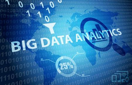 Big Data Analytics Marketing Planning Strategy Background
