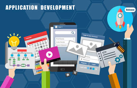 Apps Mobile Application Development Process and Release