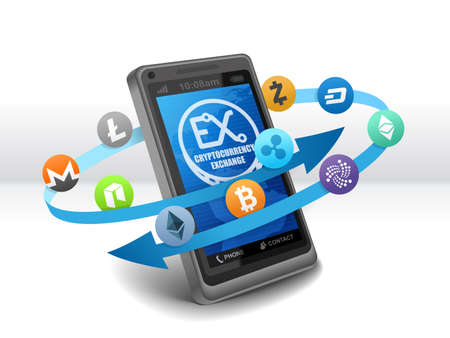 Electronic Crypto Currency Exchange on mobile (bitcoin, ethereum, classic, dash, monero, litecoin, neo, zcash, ripple, IOTA)